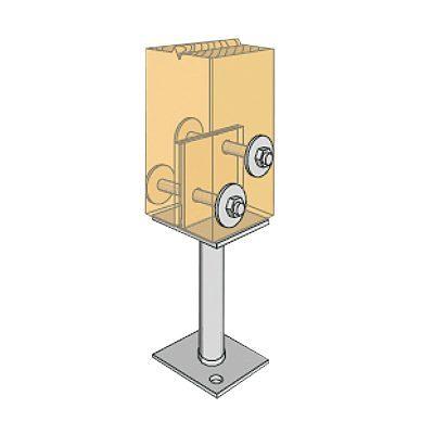 Centre Fix Post Anchors