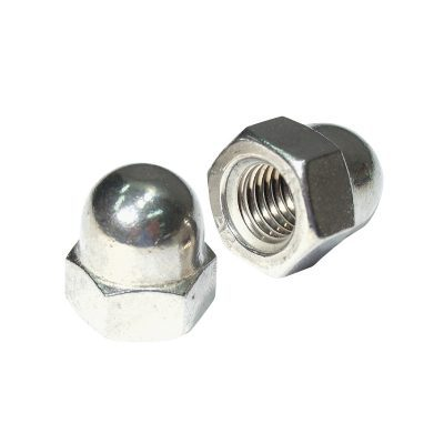 Dome Nuts - S/steel