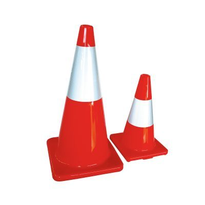 Traffic Cones and Stop/Slow Bats